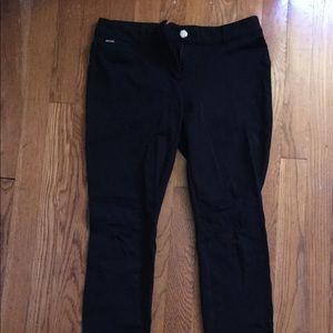 White House Black Market Black jeans/jegginga